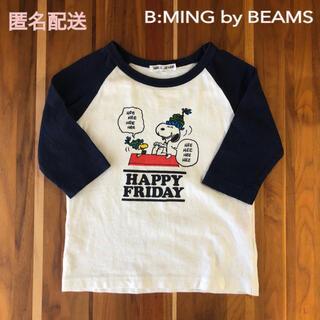 BEAMS - ビームスBEAMS  スヌーピー七分丈シャツ キッズ100