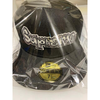 Supreme - Supreme Gonz Logo New Era Black