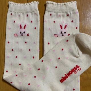 mikihouse - ミキハウス 女児 ハイソックス 靴下 17〜19