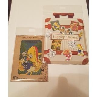 Disney - ディズニーストア ドナルドバースデーステッカー&ポストカードセット