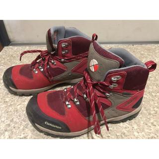 Caravan - キャラバン 24.5 レッド 登山靴 GORETEX
