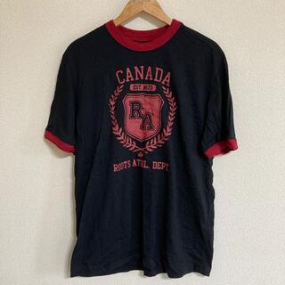 roots ルーツ カナダ Canada Tシャツ(Tシャツ/カットソー(半袖/袖なし))