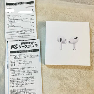 Apple - 新品未開封 Apple AirPods Pro 国内正規品