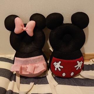 ディズニー(Disney)のよちよちリュック ミキミニ ミッキーマウス ミニーマウス 転倒防止(リュックサック)