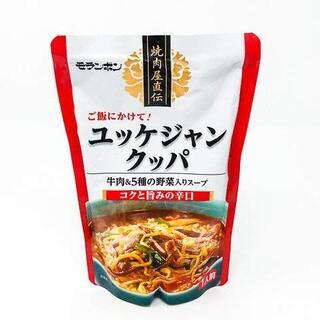 モランボン 焼肉屋直伝 ユッケジャンクッパ 350g 4個(レトルト食品)