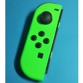 ニンテンドースイッチ(Nintendo Switch)の【動作確認品】ジョイコン joycon 左 L ネオングリーン 緑 コントローラ(その他)