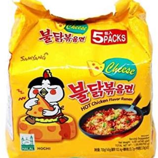 プルダックポックンミョン チーズ5袋入り(インスタント食品)