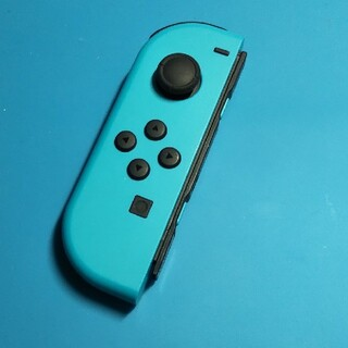 ニンテンドースイッチ(Nintendo Switch)の【動作確認品】ジョイコン joycon 左 L ネオンブルー 青 コントローラ(その他)