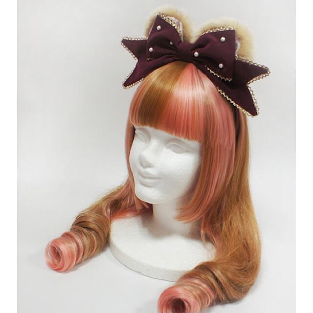 Angelic Pretty(アンジェリックプリティー)のプレゼントBearカチューシャ レディースのヘアアクセサリー(カチューシャ)の商品写真