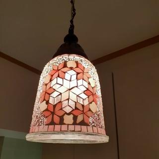 照明 トルコ モザイクランプ 天井 吊り下げタイプ(天井照明)