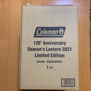 コールマン(Coleman)のコールマン シーズンズランタン2021  クラシックコールマンレッド 120(ライト/ランタン)