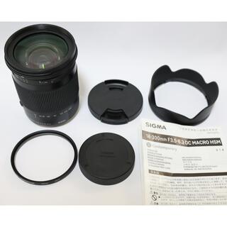 Canon - SIGMA 18-300mm f/3.5-6.3 DC MACRO OS HSM