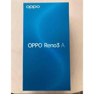 OPPO - 【新品未開封】OPPO Reno3 A Y!mobile simフリー