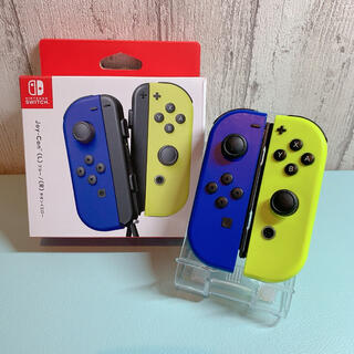 Nintendo Switch - 美品 人気カラー ブルー イエロー Switch 左右セット ジョイコン