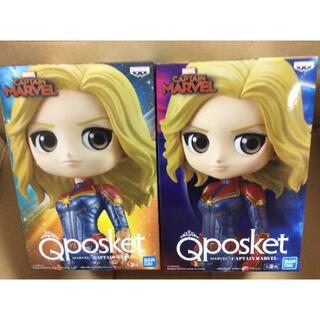 バンプレスト(BANPRESTO)のQposket キャプテンマーベル 2種セット(アメコミ)