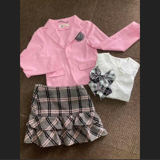 エイチアンドエム(H&M)のフォーマルスーツ5点セット 120 130 女児(ドレス/フォーマル)