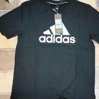 アディダス(adidas)のadidas  Tシャツ   160cm  黒  ブラック  アディダス(Tシャツ/カットソー)