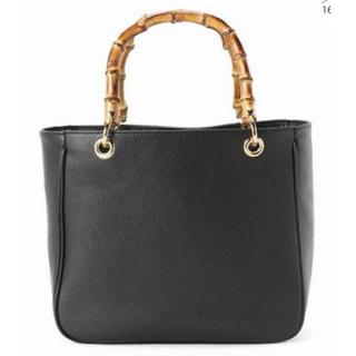 アパルトモンドゥーズィエムクラス(L'Appartement DEUXIEME CLASSE)のアパルトモン◆MAURIZIO TAIUTI Bamboo Handle Bag(ハンドバッグ)