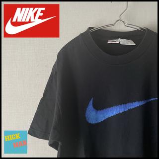 ナイキ(NIKE)の【90s】定番スウォッシュ NIKE  tシャツ サイズL(Tシャツ/カットソー(半袖/袖なし))