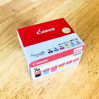 キヤノン(Canon)のキャノン純正 CANON BCI-7e 6色マルチパック 21年3月 未開封(PC周辺機器)