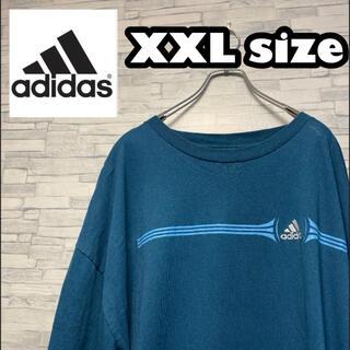 アディダス(adidas)の90s 古着adidas アディダス 刺繍ロゴビッグシルエット(Tシャツ/カットソー(半袖/袖なし))