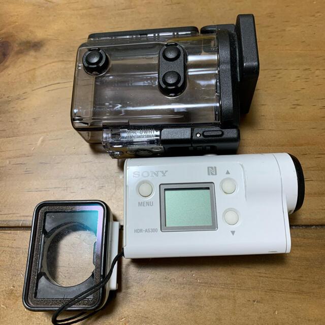 SONY(ソニー)のSONY HDR-AS300 スマホ/家電/カメラのカメラ(ビデオカメラ)の商品写真