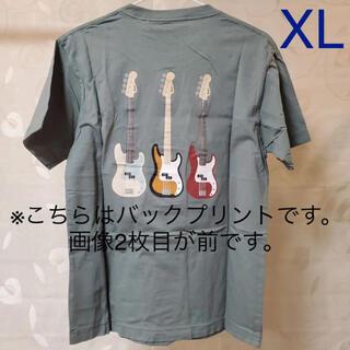 UNIQLO - ◆ ユニクロ フェンダー Tシャツ UT グリーン 半袖 XL