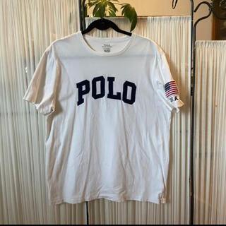 POLO RALPH LAUREN - 美品☆POLO Ralph Lauren Tシャツ 白×紺 L