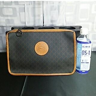 ロンシャン(LONGCHAMP)の【美品】LONGCHAMP ロンシャン クラッチバッグ ブラウン 540(クラッチバッグ)