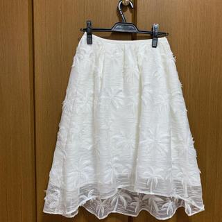 チェスティ(Chesty)のチェスティ パームツリー スカート ♬︎♡(ひざ丈スカート)