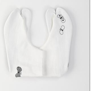 ミナペルホネン(mina perhonen)のDOUBLE MAISON×ミナペルホネン/choucho刺繍リネン足袋未開封(着物)