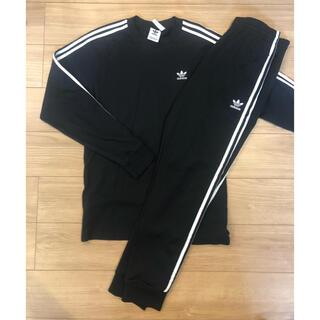 アディダス(adidas)のadidas★セットアップ ロンT パンツ(Tシャツ/カットソー(七分/長袖))