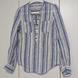 ローズバッド(ROSE BUD)のストライプシャツ(シャツ/ブラウス(長袖/七分))
