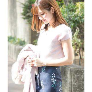 PROPORTION BODY DRESSING - プロポーションボディドレッシング 春ニット 半袖トップス フリーサイズ