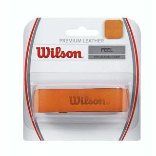 ウィルソン(wilson)の①ウィルソン プレミアムレザーグリップ ブラウン 国内正規品・ノンパッケージ品(その他)