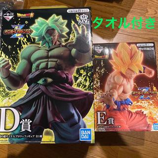 ドラゴンボール - ドラゴンボール一番くじ D賞 E賞 ブロリー 悟空 フィギュア