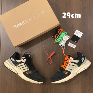 ナイキ(NIKE)のNike off-white air presto 2017 29cm (スニーカー)