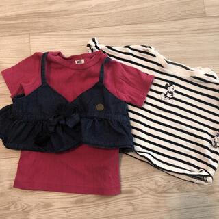 ブリーズ(BREEZE)の美品女の子90cm☆2枚セット(Tシャツ/カットソー)