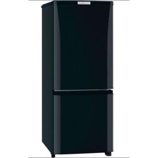 ミツビシデンキ(三菱電機)の三菱冷蔵庫 2016年製 146L  2ドア 掃除除菌済 (冷蔵庫)