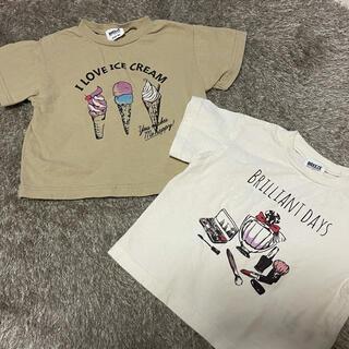 ブリーズ(BREEZE)のBREEZE 半袖 Tシャツ セット 80(Tシャツ)