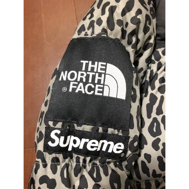 Supreme(シュプリーム)のsupreme north face nuptse down leopard メンズのジャケット/アウター(ダウンジャケット)の商品写真