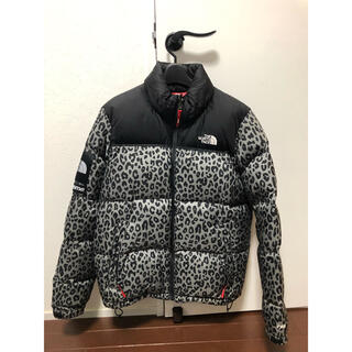 Supreme - supreme north face nuptse down leopard