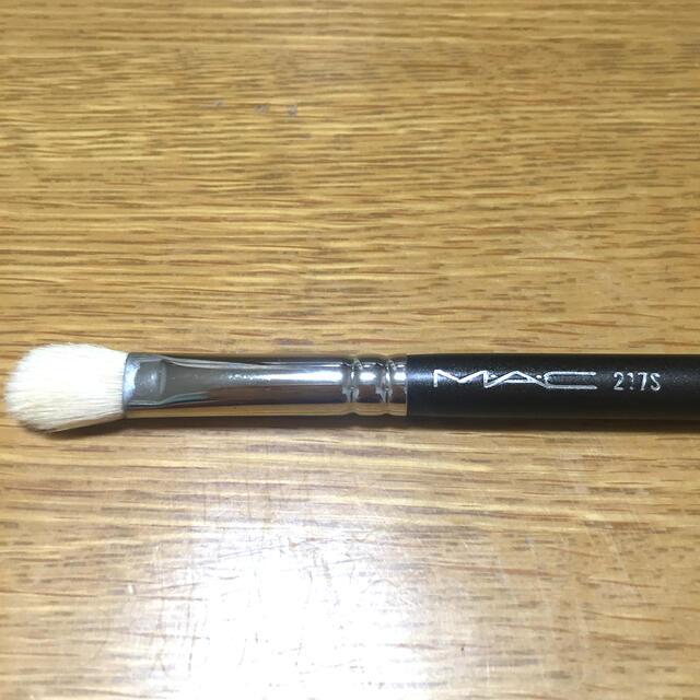 MAC(マック)のマック アイシャドウブラシ 217S コスメ/美容のメイク道具/ケアグッズ(ブラシ・チップ)の商品写真