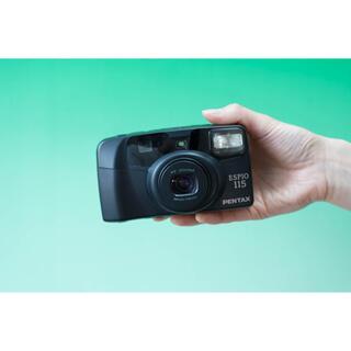 ペンタックス(PENTAX)の【完動品】フィルムカメラ Pentax Espio 115(フィルムカメラ)