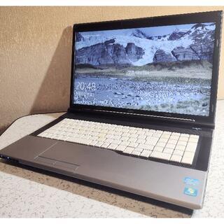 17.3インチ ノートパソコン LIFEBOOK N532/E