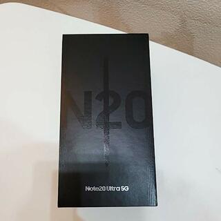 美品 Galaxy Note 20 Ultra 5G SCG06