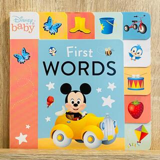ディズニー(Disney)のディズニー英語絵本 キッズ洋書 はじめての英単語 ピクサー プリンセス(絵本/児童書)