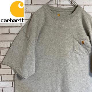 カーハート(carhartt)の90s 古着 カーハート ポケットTシャツ ロゴタグ ビッグシルエット ゆるだぼ(Tシャツ/カットソー(半袖/袖なし))