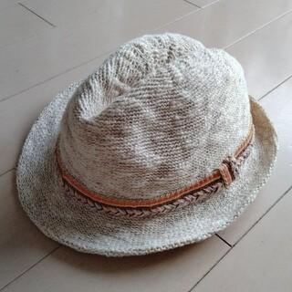 ザラキッズ(ZARA KIDS)のザラキッズ zara kids 夏用ストローハット 帽子 56  L 麦わら帽子(帽子)