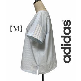 アディダス(adidas)の 【adidas】アディダス・3ストライプス ストライプトップス(Tシャツ/カットソー(半袖/袖なし))